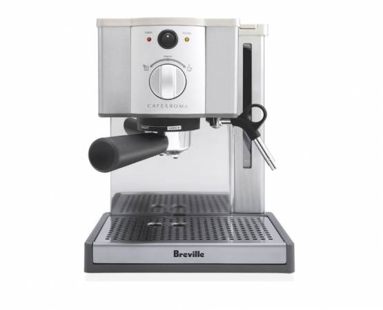Breville has to offer the best espresso machine under 200 for beginners.