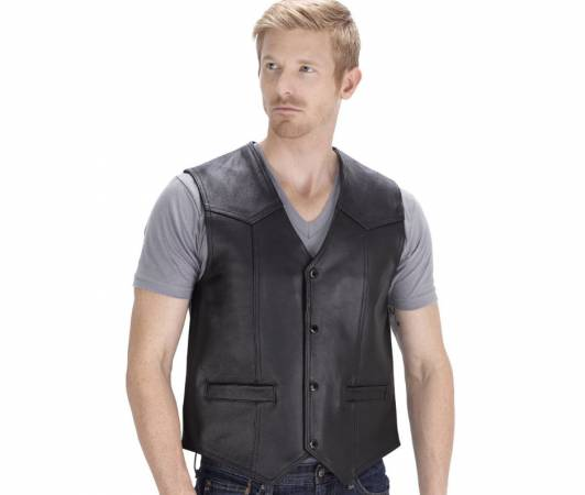 Check out our list of the best leather motorcycle vest reviews for men and choose one.