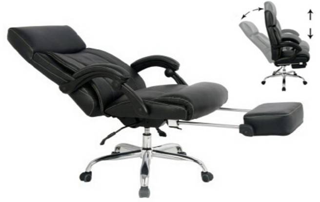 Reclining office chair can improve your health during your working hours drastically.